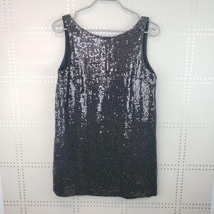 Free People | Black sequin mini dress